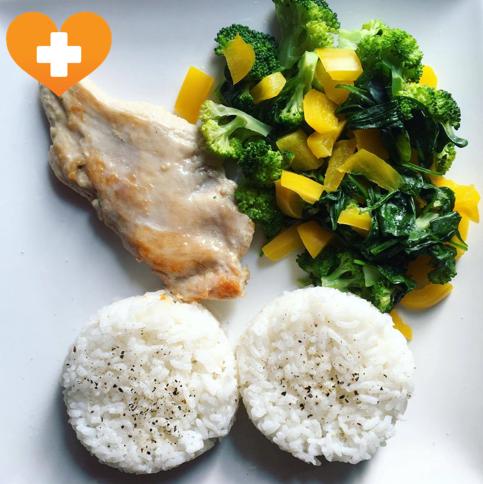 Kuřecí maso s rýží, Cara Plasma, Dietní režim