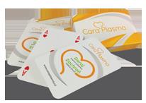 Dva balíčky hracích karet